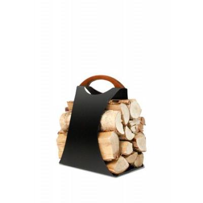 Log Carrier Hali Small | Schwarz