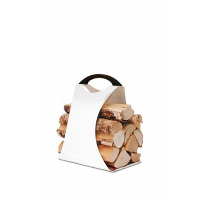 Log Carrier Hali Small | Weiß