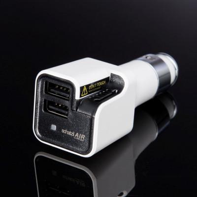 Ionischer Auto-Luftreiniger + Auto-Ladegerät AIR | Weiß