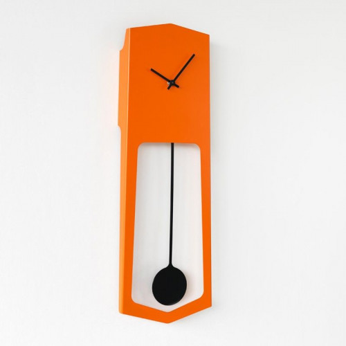 Wall Clock Aika   Orange