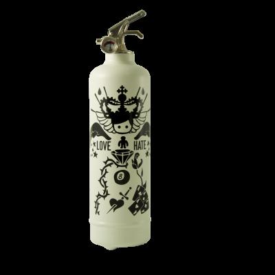 Design Feuerlöscher Tatoo