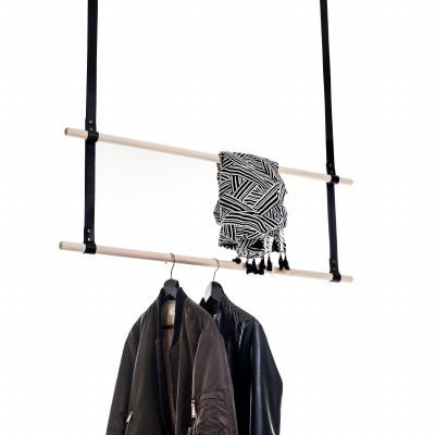 Albmi Hanger Double   Black