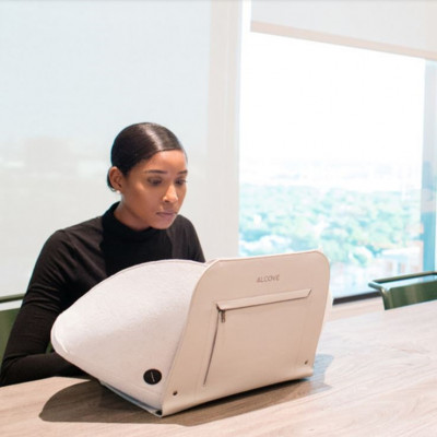 "Laptop Case/Workstation Alcove 15""   Grey"