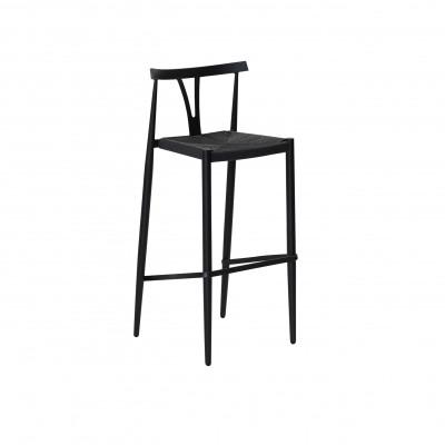 Alfa Bar Chair | Black