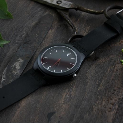 Wooden Watch | All Black