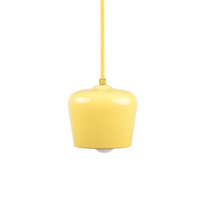 Alma Pendant   Glossy Yellow