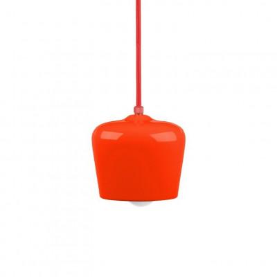 Alma Pendant   Glossy Red