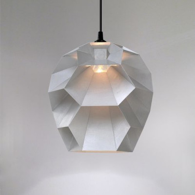 Beehive Lamp | Brushed Aluminium