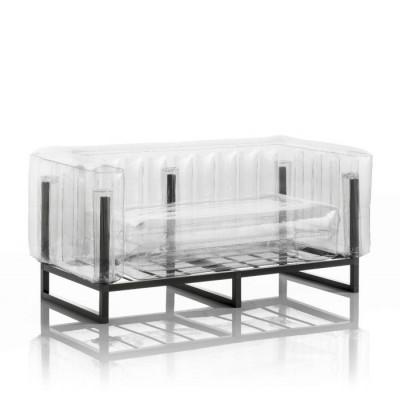 Canape Yomi Aluminium   Transparent