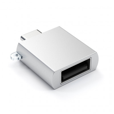 Typ-C - Typ A USB Adapter Silber