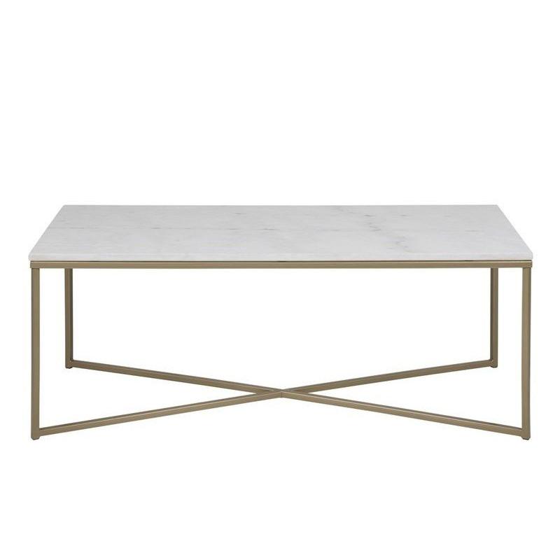 Coffee Table Alma 120 x 60 | Guangxi White Marble