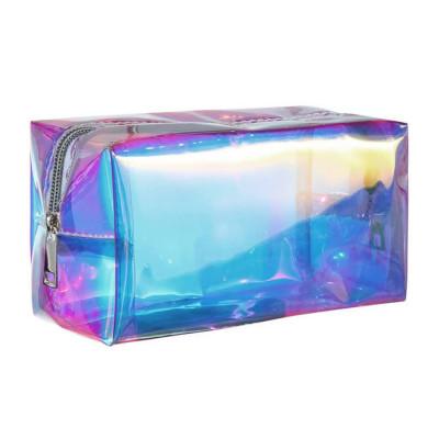 Kosmetiktasche | Transparent-Mehrfarbig