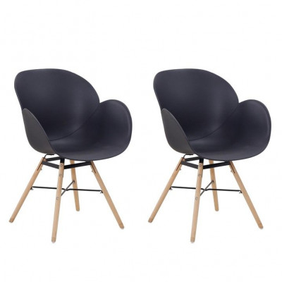 Chairs Amelie - Set of 2 | Black