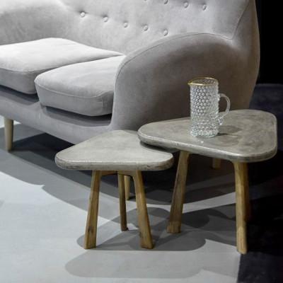 Tisch Tria'tri | Beton & Holz