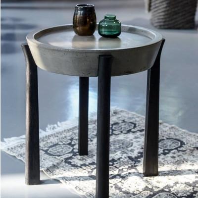 Tisch Beton | Schwarz