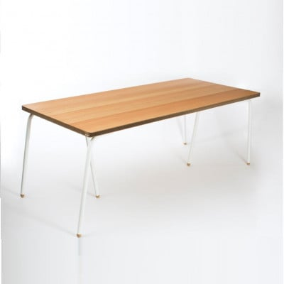Tisch | Eiche & Weiß