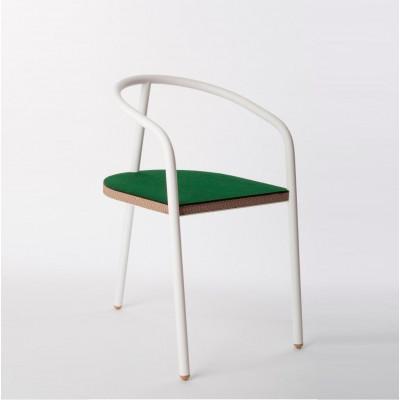 Stuhl | Eiche & Weiß