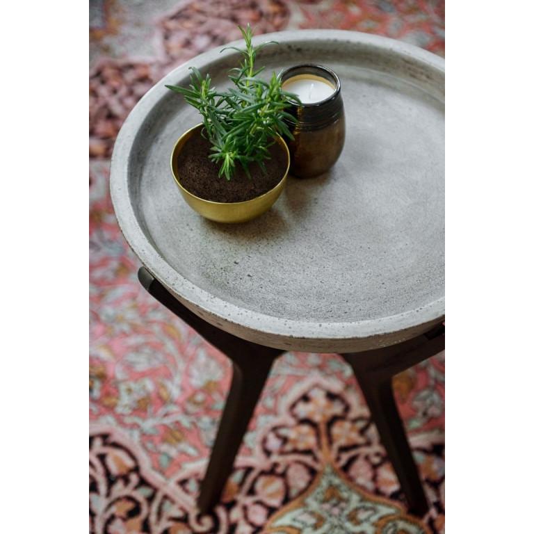Concrete Table | Black