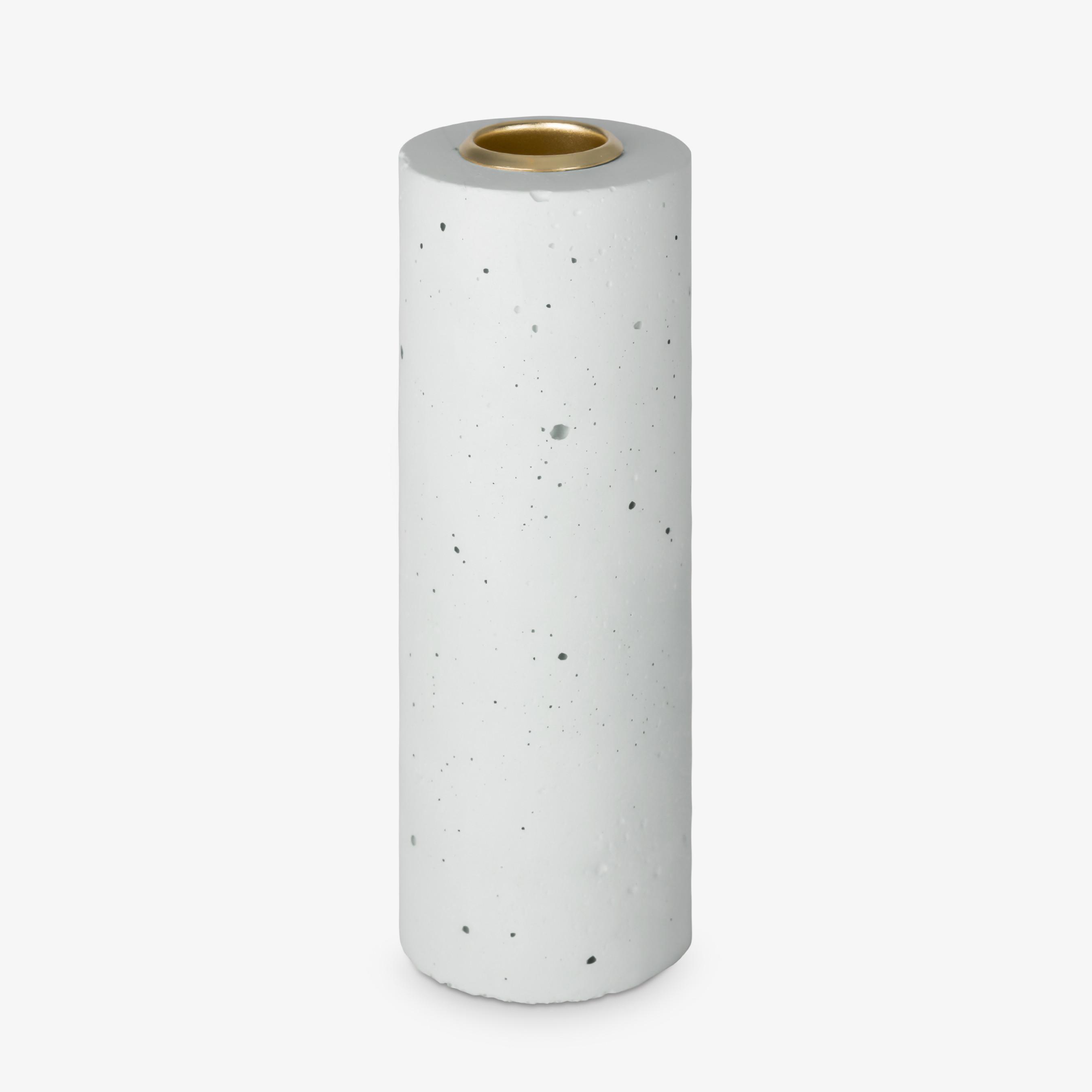 Candle Stick Tower 15x5 cm   Pastel Mint