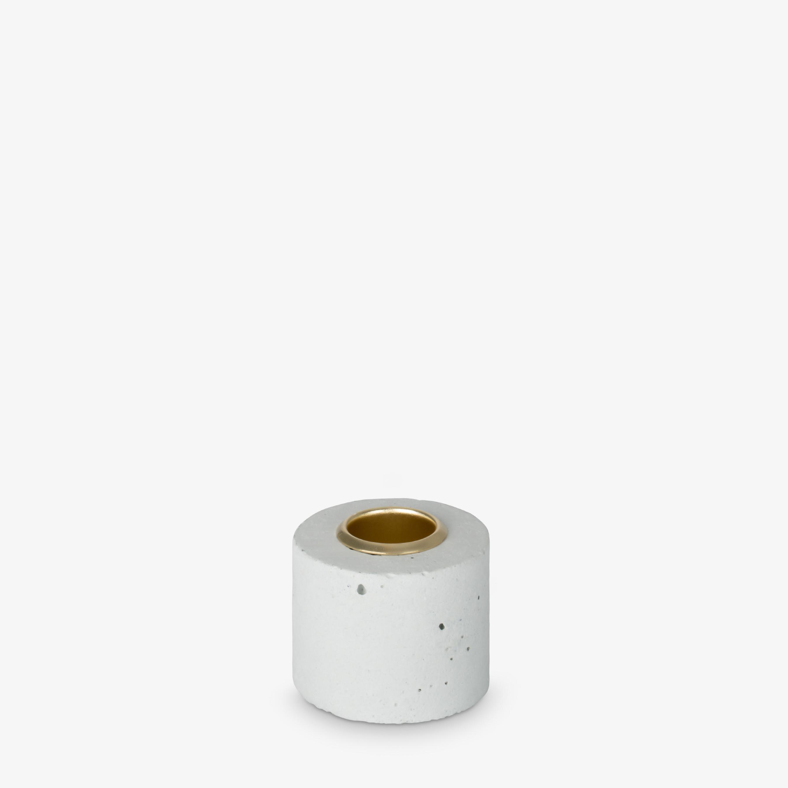 Kerzenhalter Tower 4x5 cm | Pastell Minze