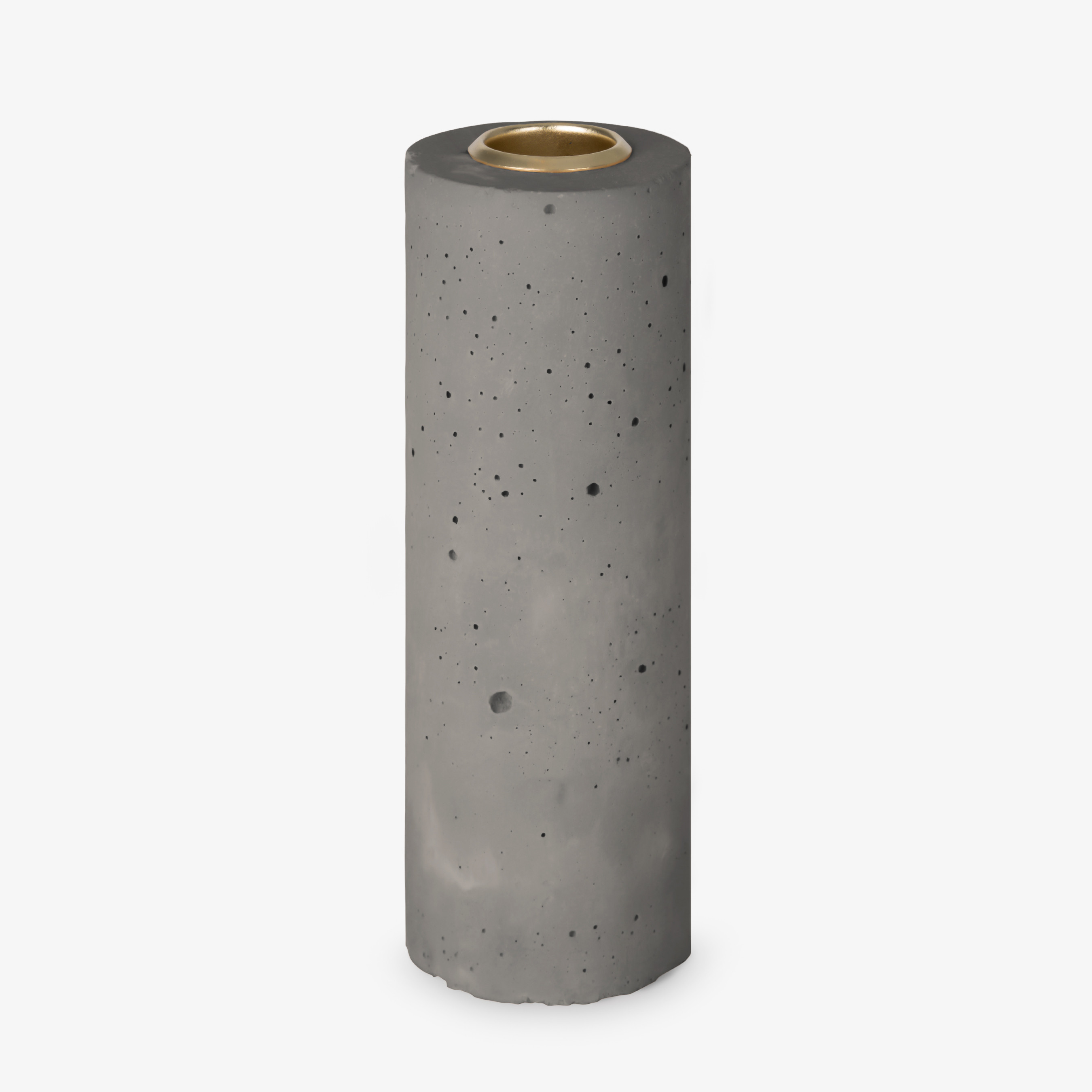 Candle Stick Tower 15x5 cm | Grey