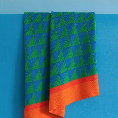 Blanket | Blue/Orange/Green