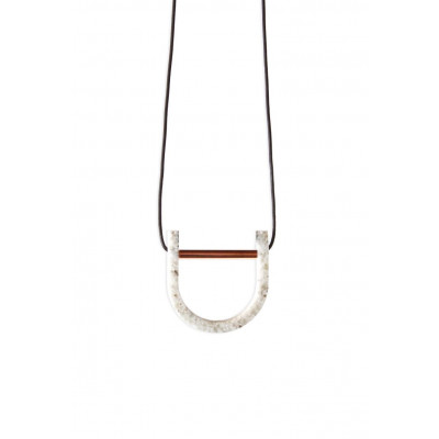 Handmade Necklace Arch | Marble