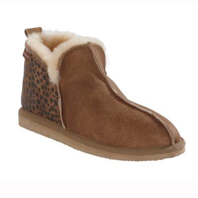 Slippers Annie | Leopard-Chestnut