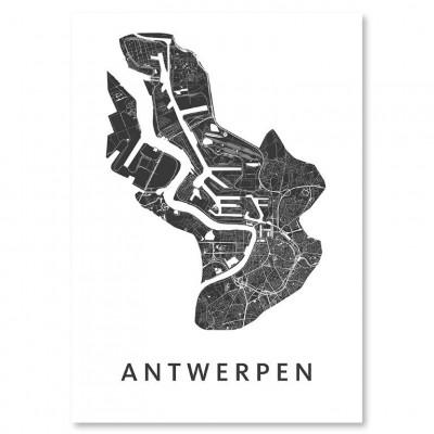 City Map Antwerp