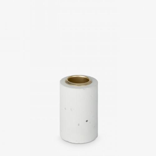 Kerzenhalter Tower 6x4 cm   Pastell Minze