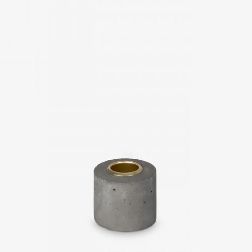Kerzenhalter Tower 4x5 cm | Grau