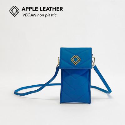 Handytasche - Apfelleder   Königsblau