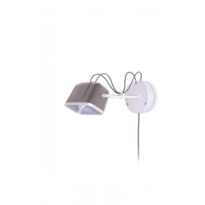 Wall Mounted MOB Lamp | Mat Grey