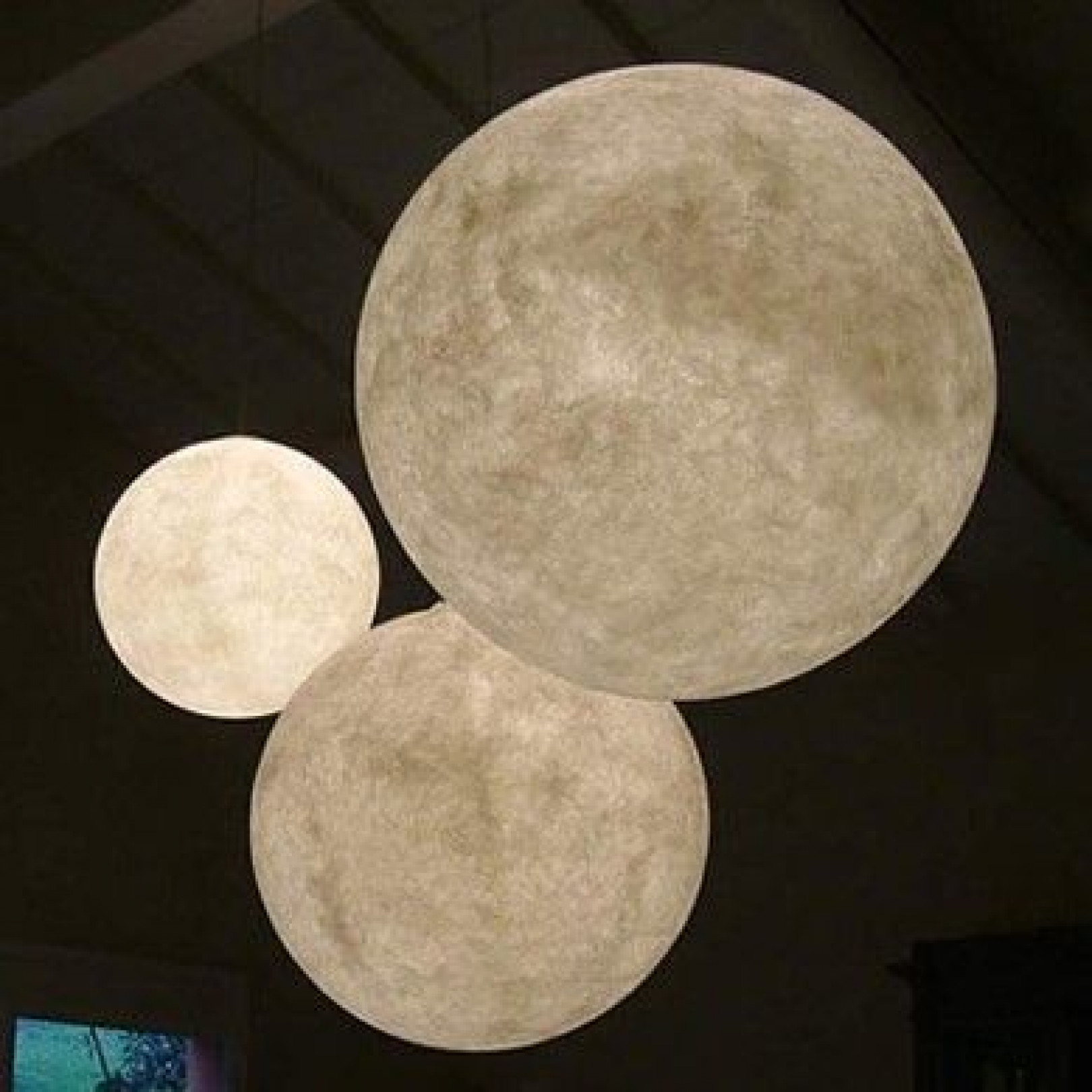 Hängelampe Tre Lune