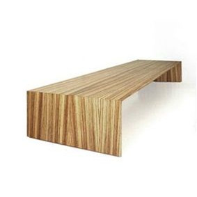 Side Table Arch Low | Exotic Wood