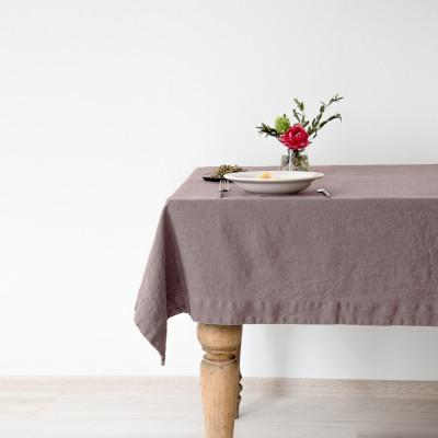 Tischdecke 200 x 140 cm | Rosenasche