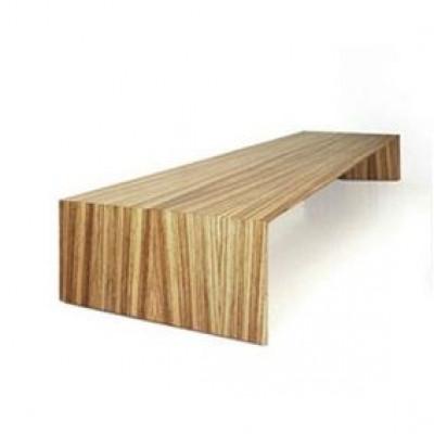 Beistelltisch Arch Low | Exotisches Holz