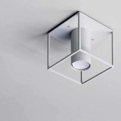 Deckenlampe Archi | Quadrat | Weiß