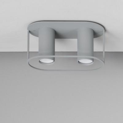 Deckenlampe Archi | Twin | Grau