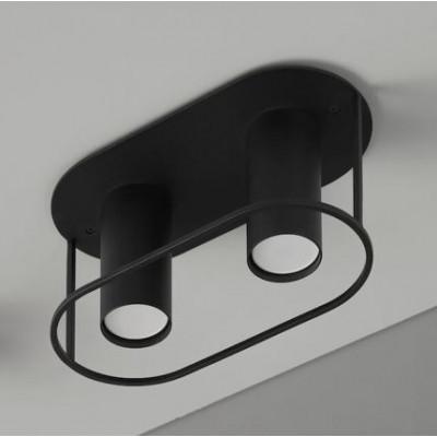 Deckenlampe Archi | Twin | Schwarz