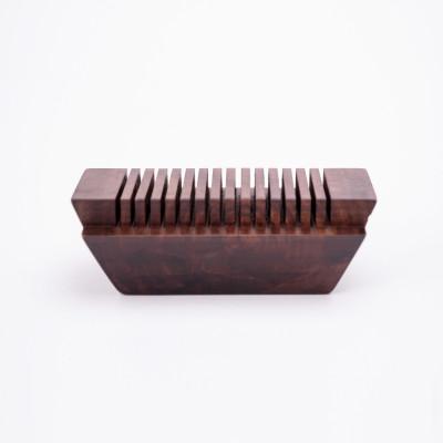 Kartenhalter Ark | Dunkelbraun