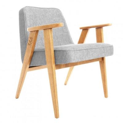 Sessel 366 Loft | Natürliche Eiche & Silber
