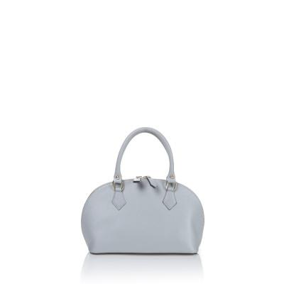 Lederhandtasche 2029-c22   Weiß