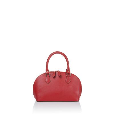 Lederhandtasche 2029-c6   Rot
