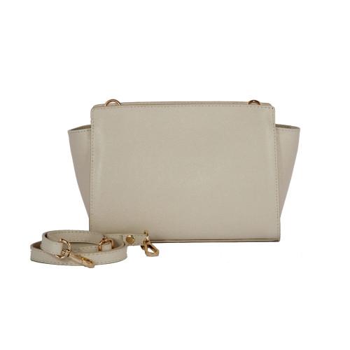 Lederhandtasche 2022-c14 | Weiß