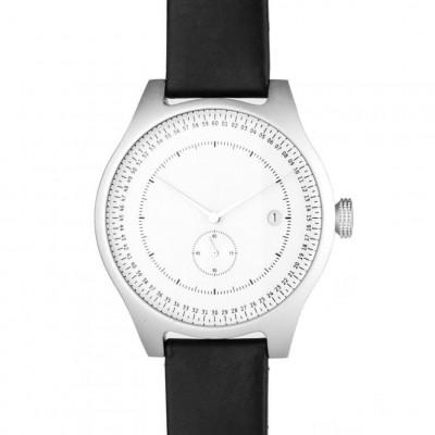 Aluminium Watch | Silver & White