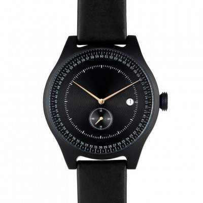 Aluminium Watch | Black & Black
