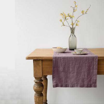 Tischläufer 150 x 40 cm | Asche von Rosen