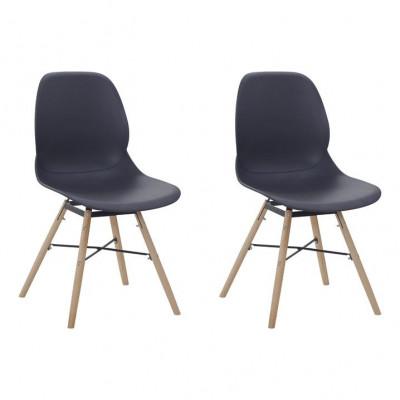 Chairs Ashley - Set of 2 | Black