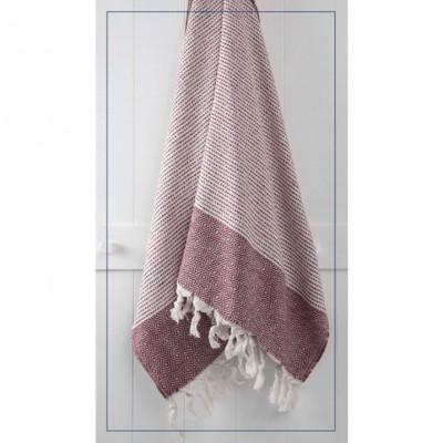Handtuch Aspendos   Bordeaux